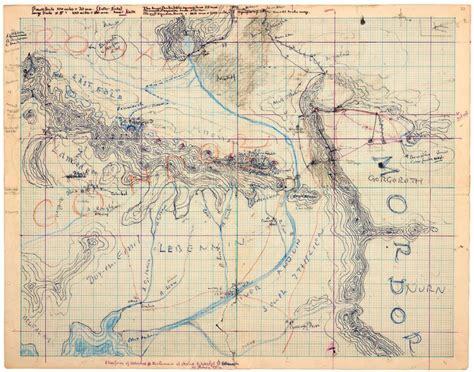 R Drawing Maps by 発見された 中つ国の建国スケッチ と トールキンの執念 Wired Jp