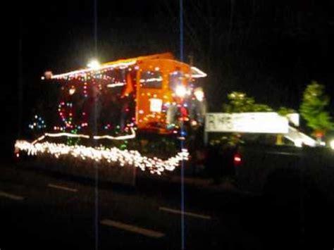 xmas lights eurekaca 2010 eureka ca truckers parade wmv