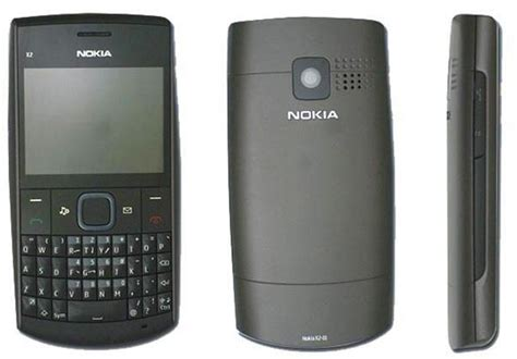 Handphone Nokia X2 Qwerty leak nokia x2 01 is a cheap qwerty feature phone