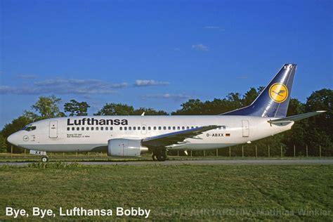 Bewerbung Lufthansa Bild bye bye bobby lebe wohl lufthansa boeing 737 330