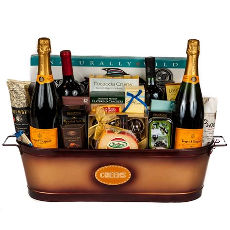 Gifts For Or With by Celebration Gift Basket Wine And Chagne Gifts By San