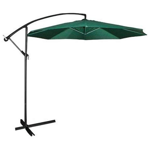 Offset Patio Umbrella With Base Naples 10 Square Side Post Umbrella Taupe Images Frompo