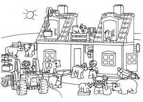 coloring pages for lego lego farm coloring page for printable free lego