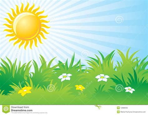 Suny Day bright day clipart