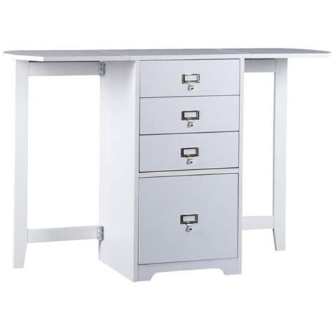 computer armoire with fold out desk southern enterprises paige white fold out organizer