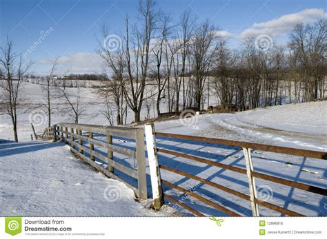 winter landscape in ohio stock photo image of clouds