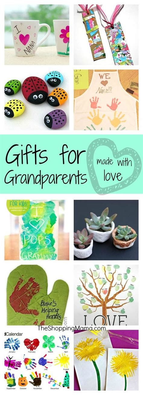 Handmade Grandparent Gifts - handmade gifts for grandparents the great this sunday