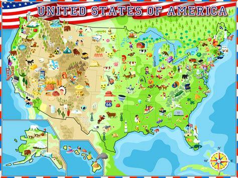 seattle united states map usa illustrated atlas