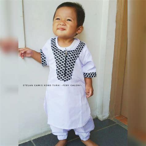 Pakaian Pria Koko Anak baju gamis anak pria