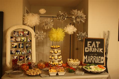 engagement party decorations  pinterest inspired diy