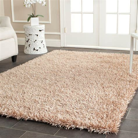 Area Rugs New Orleans Safavieh New Orleans Shag Beige 8 Ft X 10 Ft Area Rug Sg531 1313 8 The Home Depot