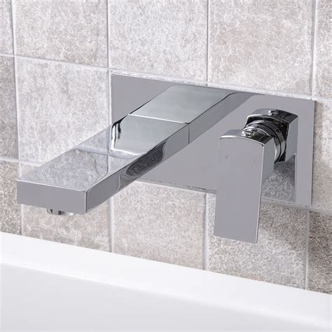 wall mounted bath filler and shower cube wall mounted bath filler
