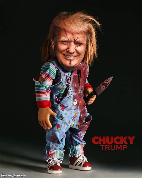 donald and chucky doll chucky pictures freaking news