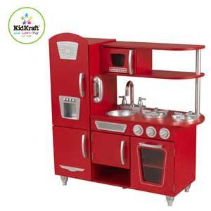 Red Wooden Play Kitchen - kinderk 252 che holz holzk 252 che von kidkraft