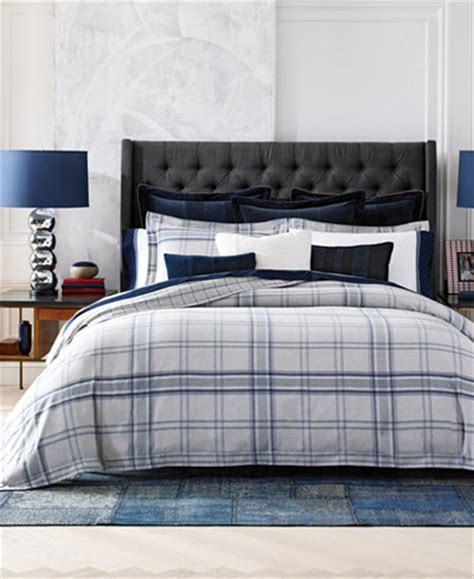 tommy hilfiger bedding outlet tommy hilfiger carraway plaid full queen duvet set bedding collections bed bath