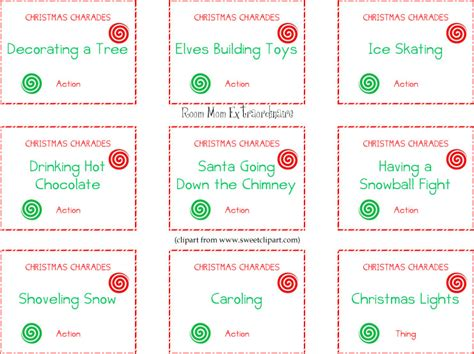 printable charades cards keith blog printable charades cards 2012