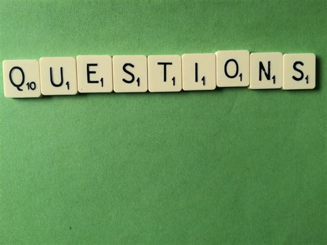 is faq a scrabble word knowing the right questions to ask synap