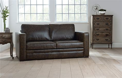 Distressed Leather Living Room Furniture Distressed Leather Sofa Roselawnlutheran