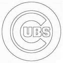 chicago cubs coloring pages chicago cubs logo pictures coloring home