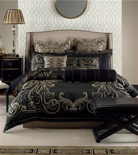 French Bedroom Sets black and gold duvet cover home design ideas