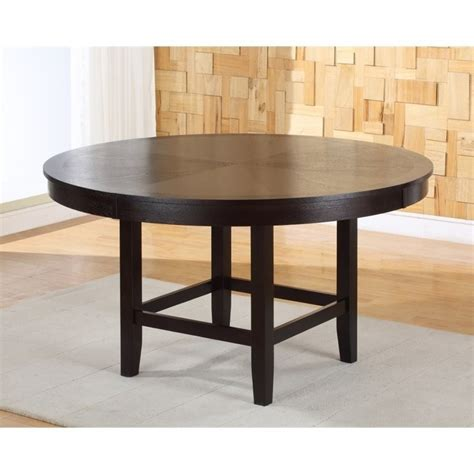 54 dining table modus bossa 54 inch dining table in chocolate