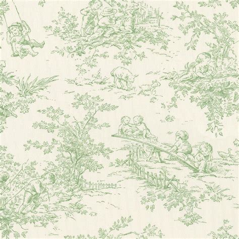 toile curtains green baby toile sage fabric by the yard green fabric