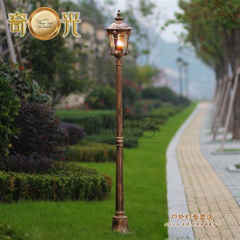 garden lamp post b&q