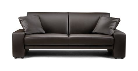 faux leather bed settee supra sofa bed settee faux leather brown leather sofas