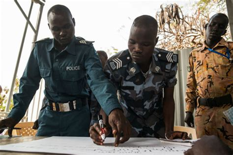 south sudan police police sector reform security topics africa center for