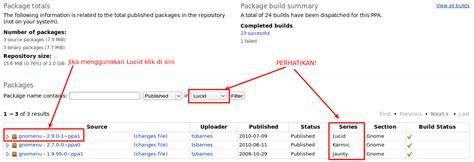 Paket Atas Nama taqdir s paket aplikasi di ubuntu ppa