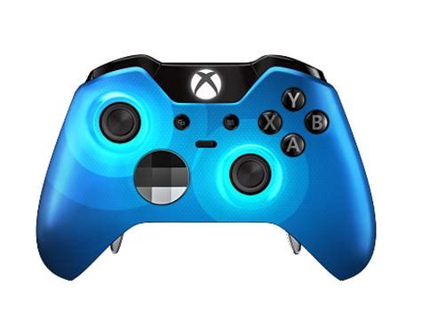 blue specular xbox one elite controller