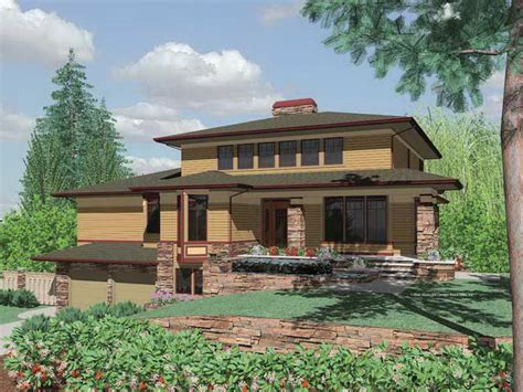 prairie style house architecture plan unique design of prairie style house