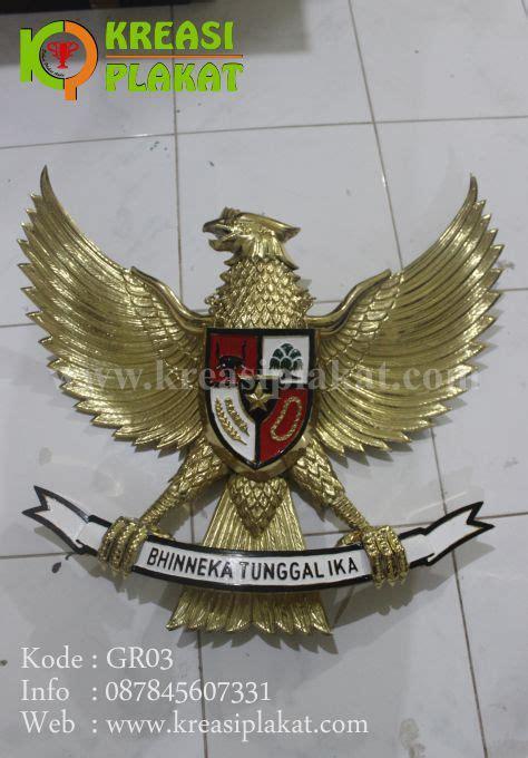 Patung Garuda Pancasila Ukuran 110cm Tembaga lambang garuda pancasila patung garuda