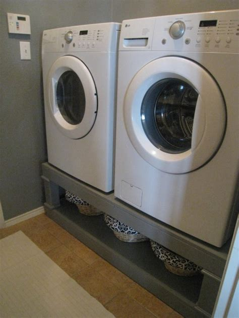 washer and dryer pedestal reveal shanty 2 chic washer and dryer pedestal reveal shanty 2 chic