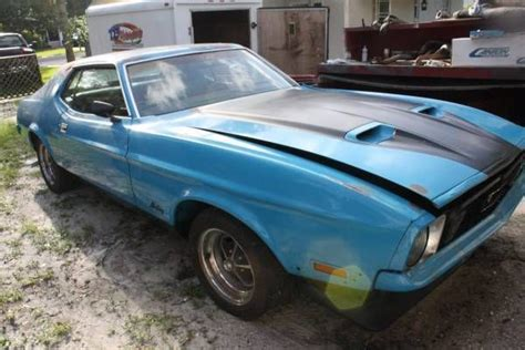 Mustang Auto Parts Melbourne by 1972 Ford Mustang 302 V8 Project Car Original A C
