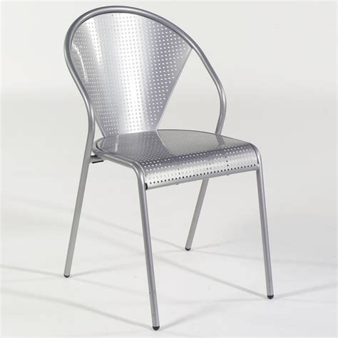ital modern metal dining chair contemporary