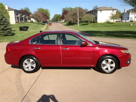 2009 Kia Mpg Find Used 2009 Kia Optima Ex Clean Low 30 Mpg