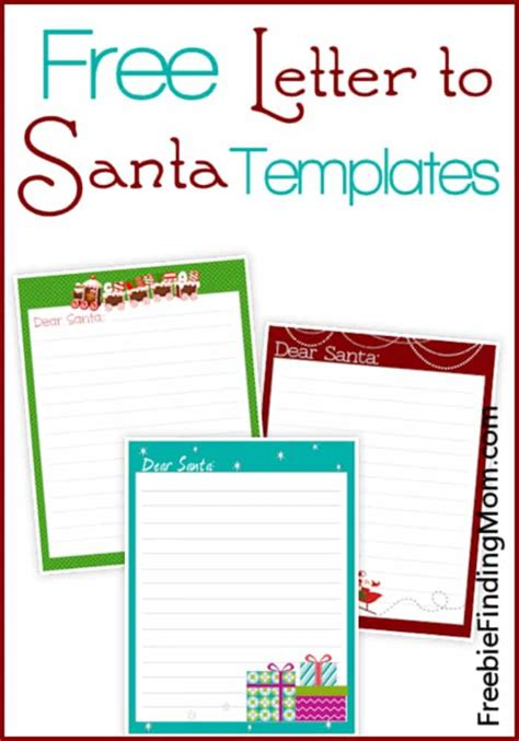 Free Printable Alphabet Templates And Other Printable Letters Free Letter To Santa Template