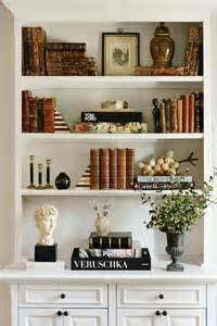 17 best ideas about decorating a bookcase on