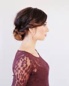 directions for easy updos for medium hair wedding hairstyles for medium hair tutorial once wed