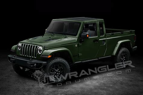 2018 jeep wrangler pickup name will the jeep wrangler pickup look like this motor