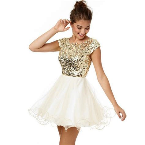 Klething Manggar Pink Dress 7 8th glitter gold sequin homecoming dresses