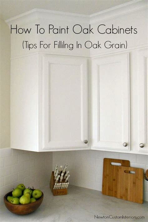 how to paint your cabinets best 25 painted oak cabinets ideas on