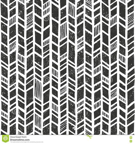 tribal pattern drawn vector hand drawn tribal pattern seamless primitive