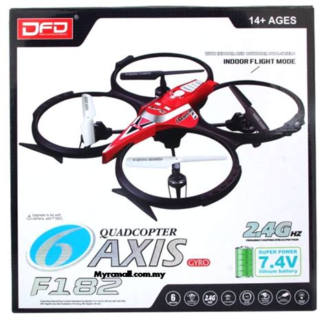 Dfd F183 2 4g 4ch 6 Axis Gyro Rc Quadcopter With Hd Rtf Promo dfd f182 4ch 2 4g 6 axis gyro rc quadcopter rtf