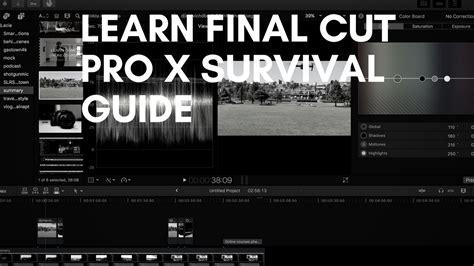 final cut pro upgrade cost final cut pro x essential training 2013