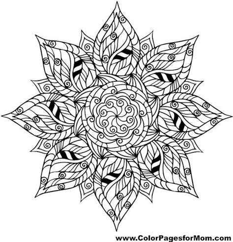 leaf mandala coloring page leaves coloring page 32 free mandalas coloring pages