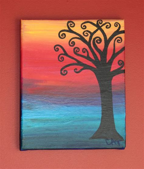 painting ideas canvas 30 easy canvas painting ideas