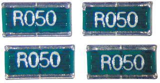 resistor smd r050 prl1632 r050 f t5 susumu current sense resistor 0 05 ohm 1w 1 farnell uk