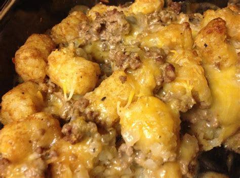 tater tot casserole recipe 9 just a pinch recipes